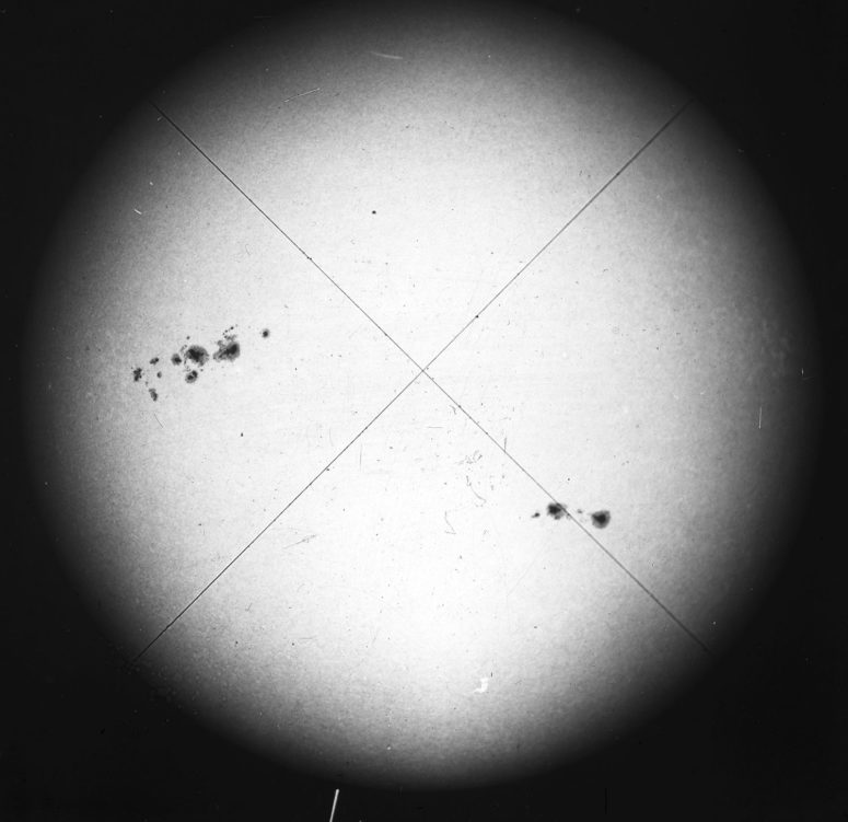 Sun - 1920, January 25 Royal Observatory Greenwich