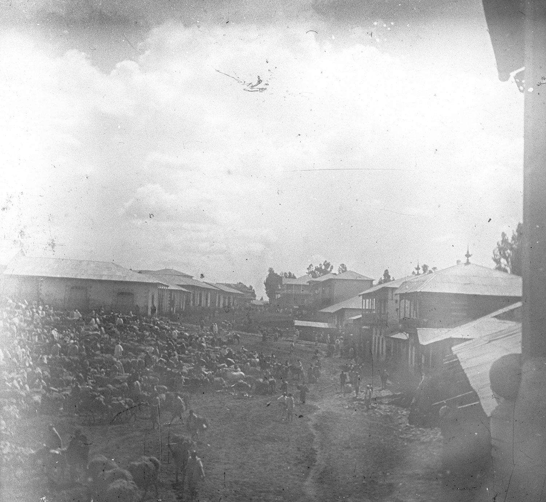 Le marché au grain novembre 1916
