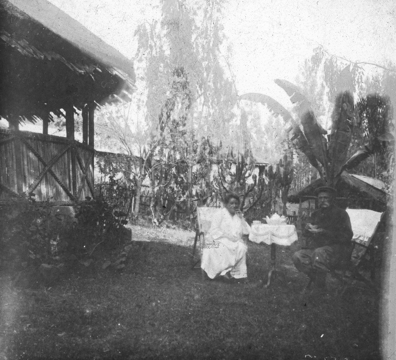 Mr Mme S. chez eux le 27-2-1919