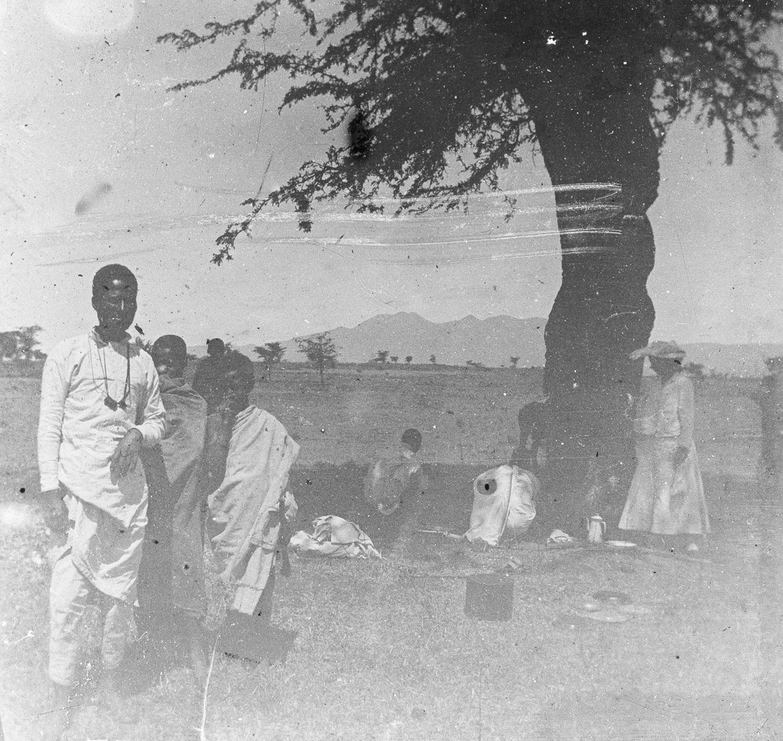 Campement en Abyssinie Hada mai 1911