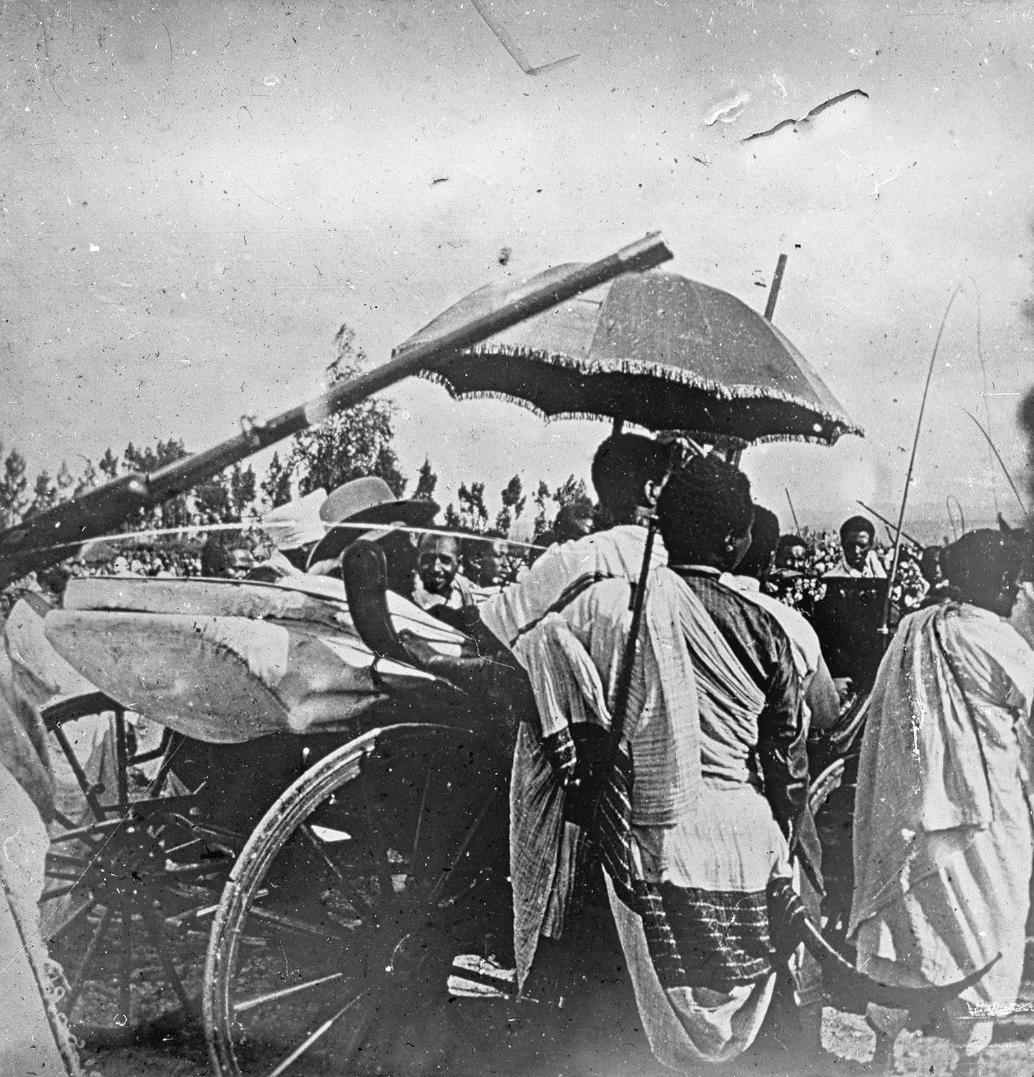 Dernière sortie de Ménélick 1910
