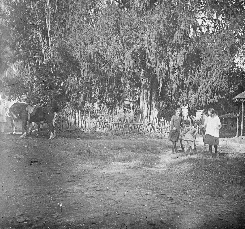 Chez S. ... et Mlle H. 1921 Mars