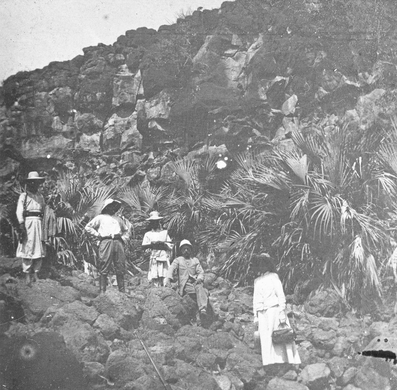 Tilouaa ancien volcan Abyssinie Mai 1911