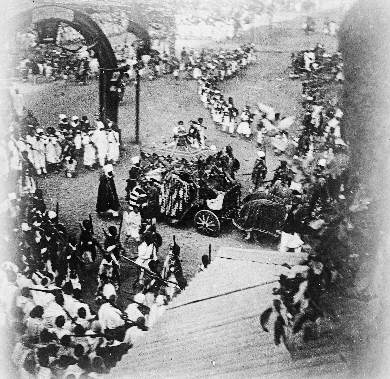 Défilé du char impérial 21 février 1917