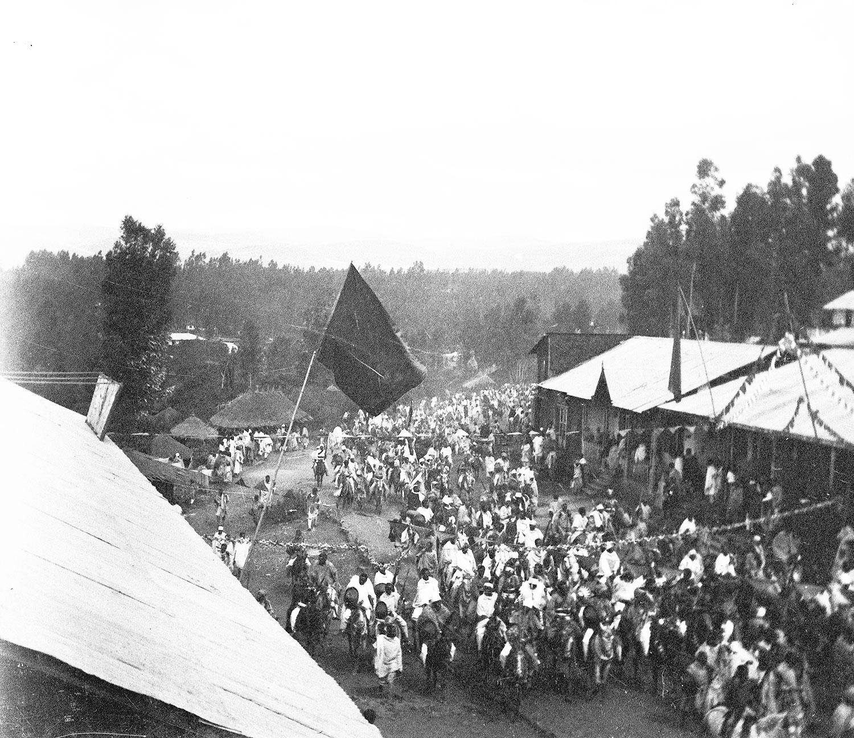 Fantasia retour de la guerre novembre 1916 Abyssinie
