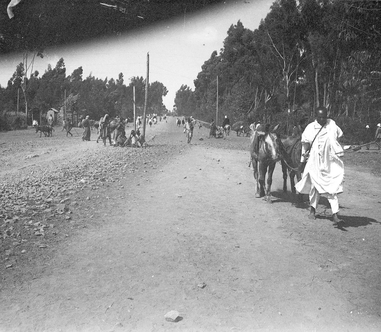 Avenue de la gare novembre 1919