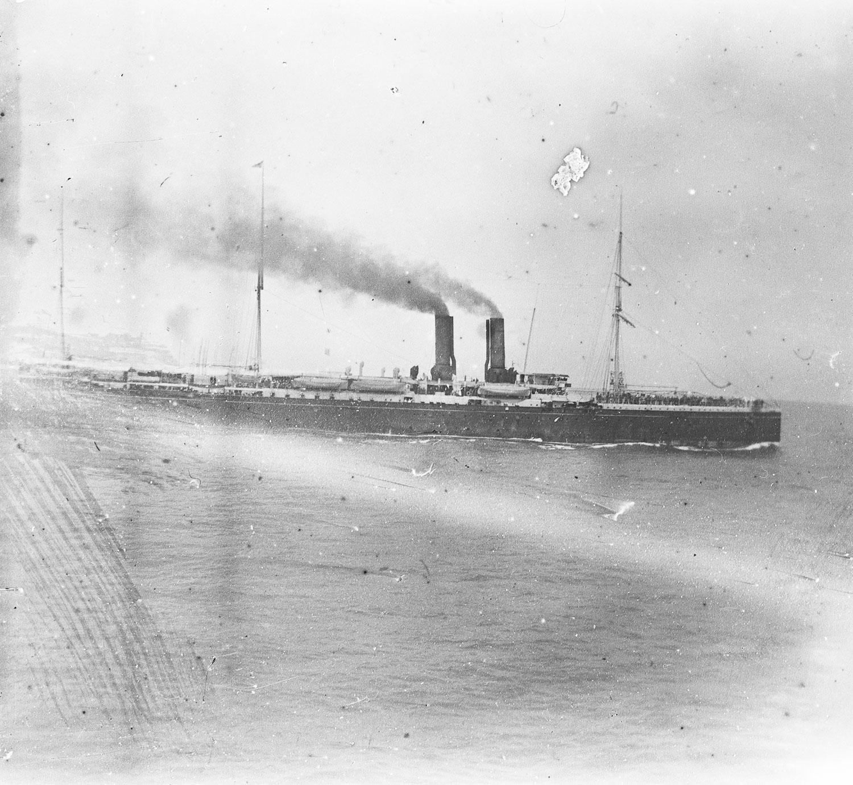 Paquebot en Mer Rouge 1913