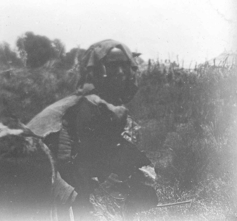 Une femme aramis Abyssinie 1916