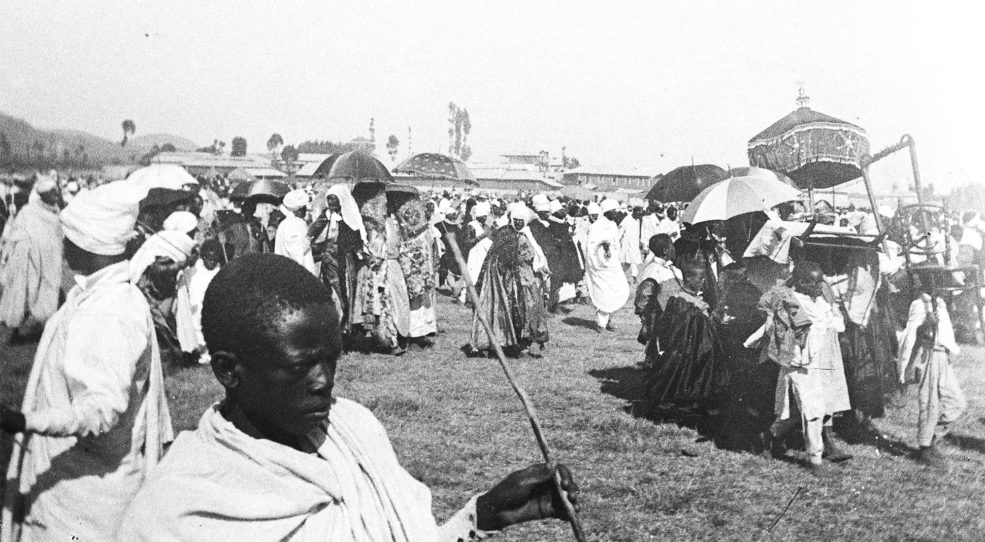 Éthiopie, années 10