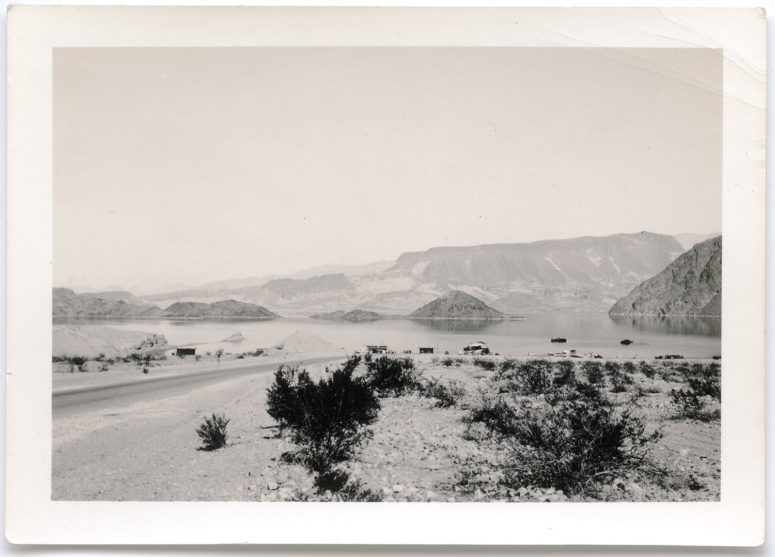 Mead Lake (back of Boulder Dam Nevada- Arizona) Fortification Mountain - Sept 39
