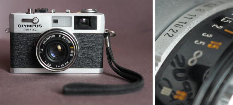 Olympus 35 RC Japon 1970 - 1979