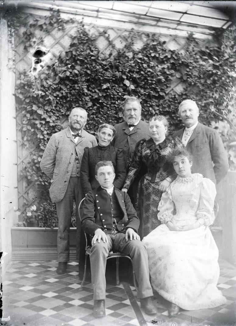 Manches gigot, à la mode vers 1895