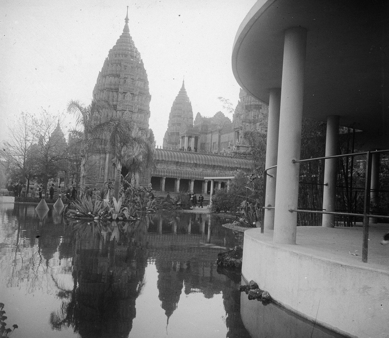 Reconstitution du temple d'Angkor Vat