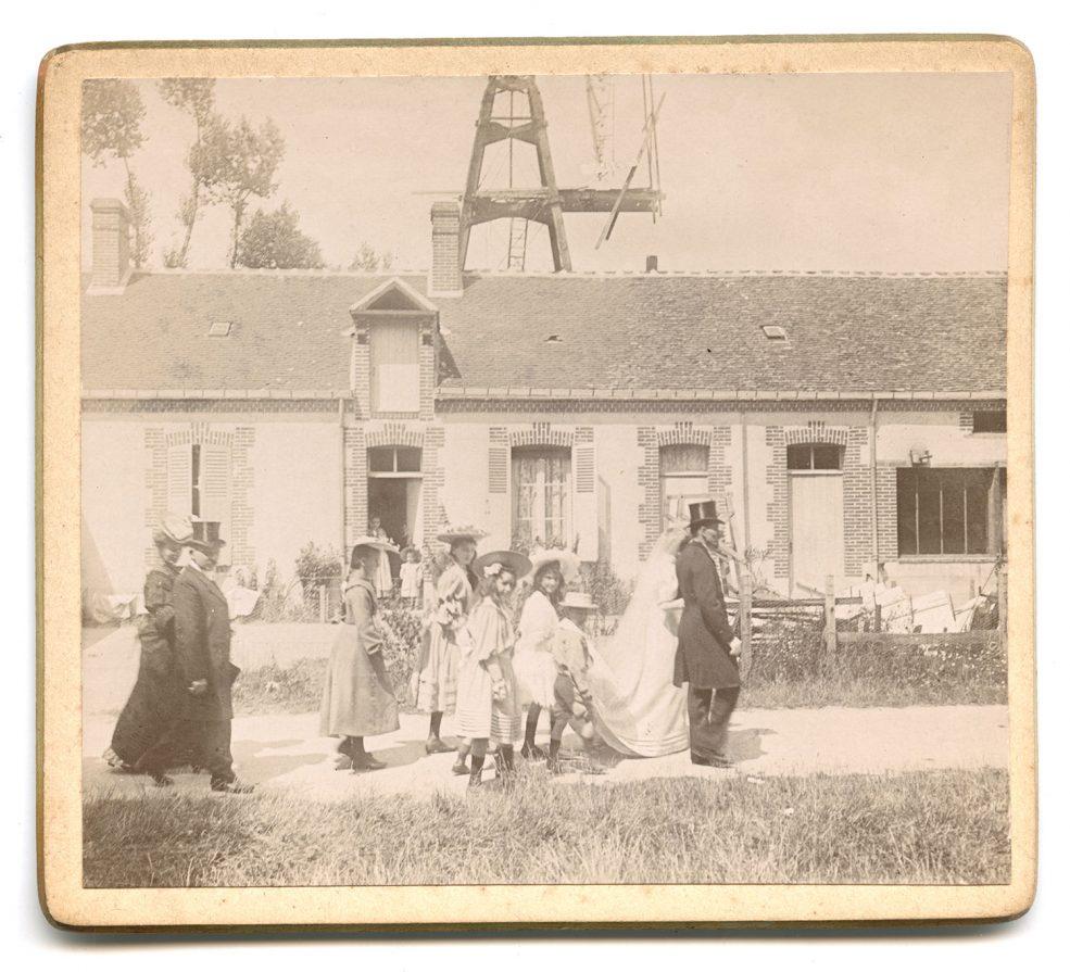 Mariés d'août 1905