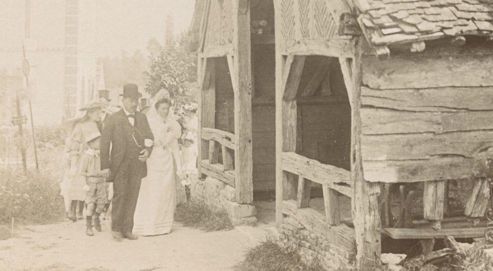 Un mariage dans le Gâtinais