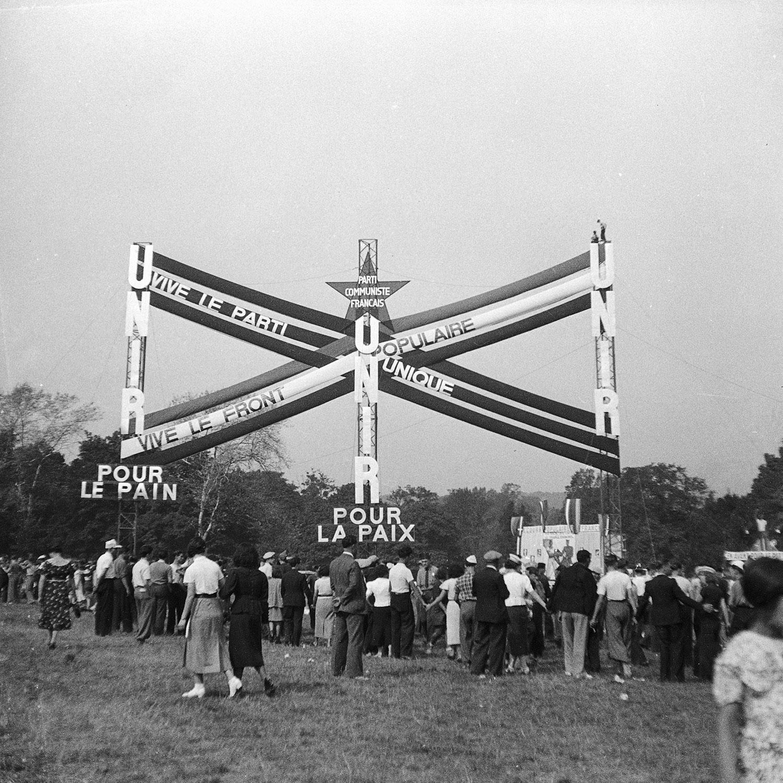 Monument du Parti communiste français à la fête de l'Humanité