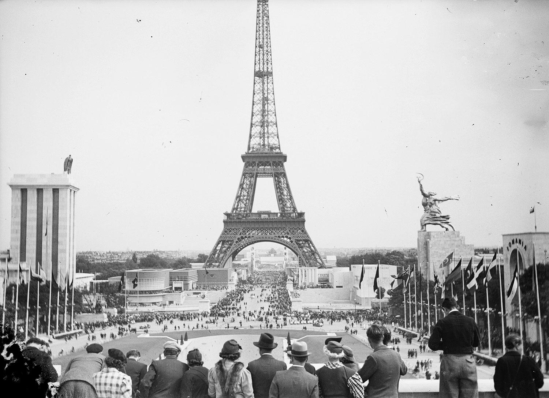 Vue depuis l'esplanade du Palais de Chaillot