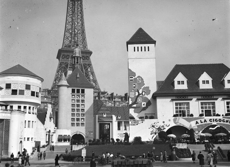 Les Pavillons de la Champagne, de la Picardie et de l'Alsace