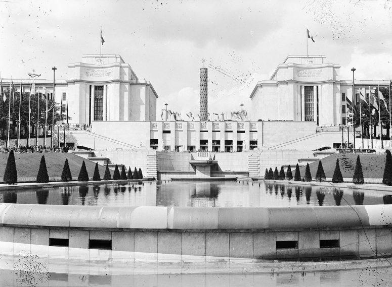 Le Palais de Chaillot, le Monument de la Paix