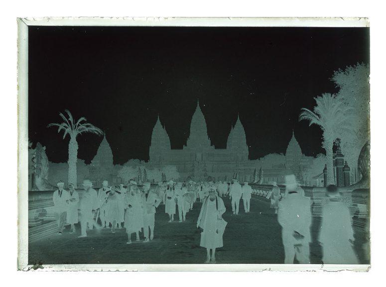 Palais d'Angkor - le négatif